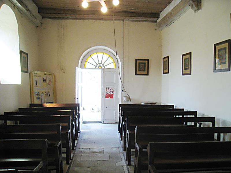 Church Outside BackWall