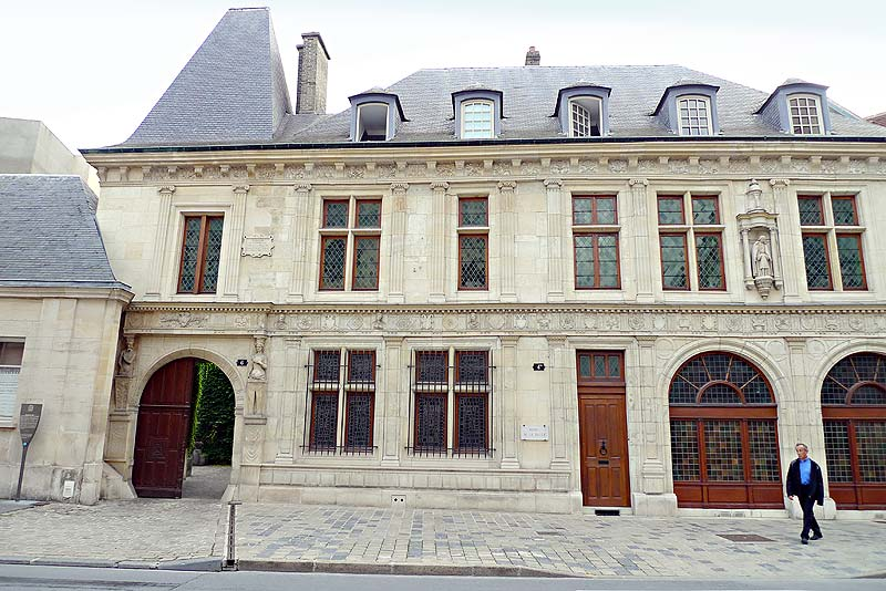 The exterior of the home in Reims, France, where De La Salle was born and grew up.