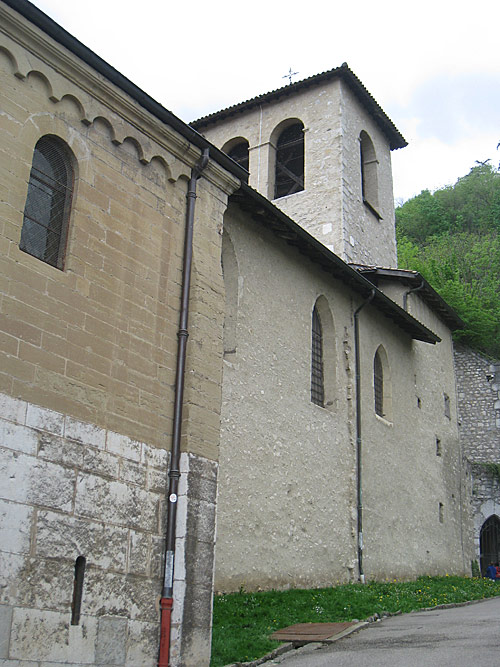 The Church of St. Laurent in Grenoble, near the Brothers' house.