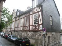 The original house in Rouen where the first Brothers moved after living and working in the General Hospice.