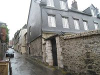 Back side of the original house in Rouen where the first Brothers moved after living and working in the General Hospice.