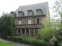 Outside of the Hospice General in Rouen, where Adrian Nyel and the Brothers worked.