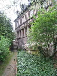 Back of the Hospice General in Rouen, where Adrian Nyel and the Brothers worked.