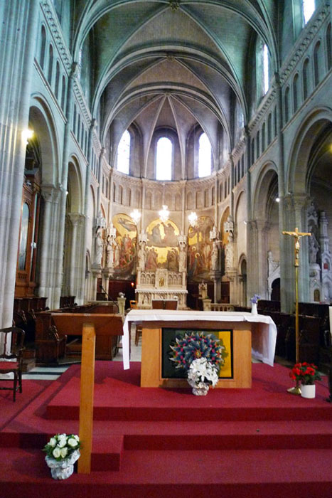 Altar inside the Church of St. Clement.