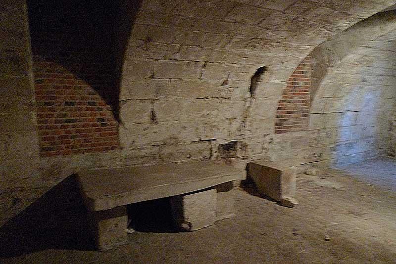 Basement area of St. Yon, Rouen.